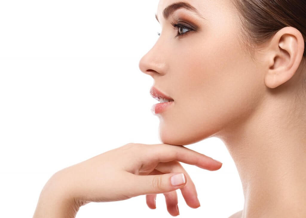 chin cosmetics definition