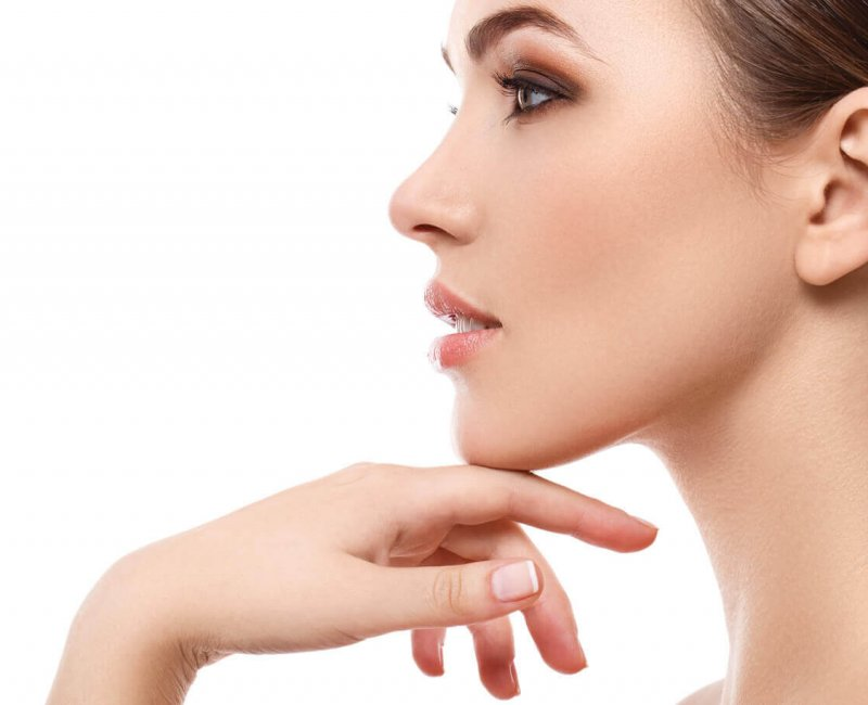 chin cosmetics definition